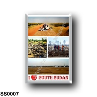 SS0007 Africa - South Sudan - I Love