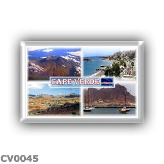 CV0045 Africa - Cape Verde - Fogo Island - Praia - Santiago - Monte Cara