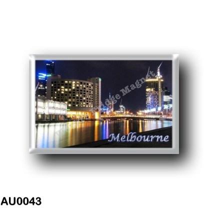 AU0043 Oceania - Australia - Melbourne - Melbourne reflectios