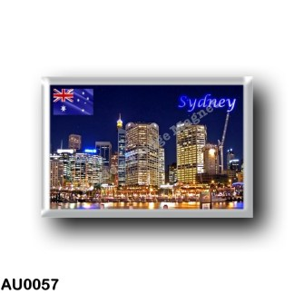 AU0057 Oceania - Australia - Sydney - Darling Harbour by Night