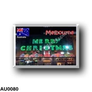 AU0080 Oceania - Australia - Melborne - Flinders Street Station