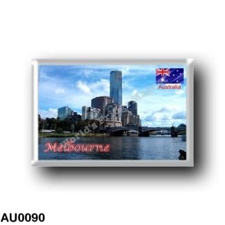 AU0090 Oceania - Australia - Melbourne - Panorama
