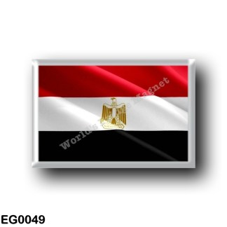 EG0049 Africa - Egypt - Red Sea - Flag Waving