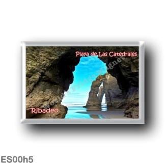 ES00h5 Europe - Spain - Spagna - Ribadeo - Playa de las Catedrales