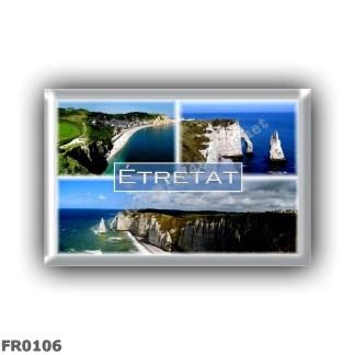 FR0106 Europe - France - Normandy - Etretat - The cliffs - Sea Vie - Panorama