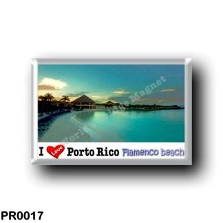 PR0017 Porto Rico - Culebra Island - Flamenco Beach - I Love