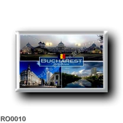 RO0010 Europe - Romania - Bucharest - Bucaresti - Victory Avenue - Dambovita River