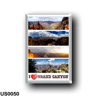 US0050 America - United States - National Park - Grand Canyon - I Love