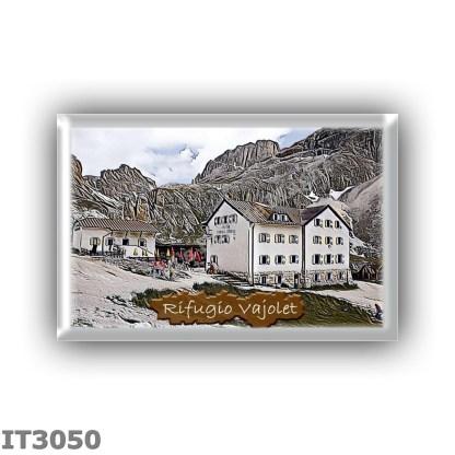 IT3050 Europe - Italy - Dolomites - Group Catinaccio - alpine hut Vajolet - locality Porte Neigre - seats 120 - altitude meters