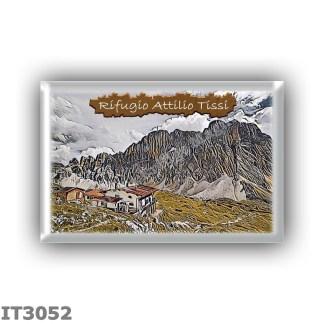 IT3052 Europe - Italy - Dolomites - Group Civetta - alpine hut Attilio Tissi - locality Col Rean - seats 58 - altitude meters 22