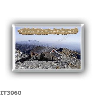 IT3060 Europe - Italy - Dolomites - Group Cristallo - alpine hut Son Forca-Franchetti - locality Son Forca - seats 30 - altitude
