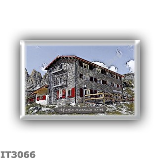 IT3066 Europe - Italy - Dolomites - Group Dolomiti di Sesto - alpine hut Antonio Berti - locality Val Popera - seats 48 - altitu