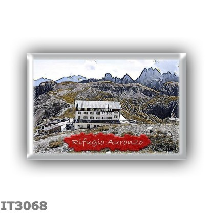 IT3068 Europe - Italy - Dolomites - Group Dolomiti di Sesto - alpine hut Auronzo - locality Forcella Longeres - seats 115 - alti