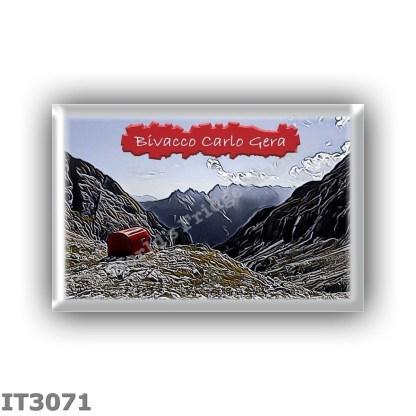 IT3071 Europe - Italy - Dolomites - Group Dolomiti di Sesto - alpine hut Bivacco Carlo Gera - locality Ciadin de Ambata del Mont