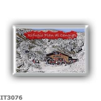 IT3076 Europe - Italy - Dolomites - Group Dolomiti di Sesto - alpine hut Pian di Cengia - locality Forcella Pian di Cengia delm