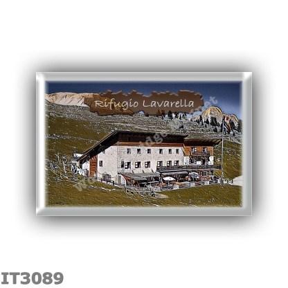 IT3089 Europe - Italy - Dolomites - Group Fanes-Braies - alpine hut Lavarella - locality Alpe di Pices Fanes - seats 50 - altitu