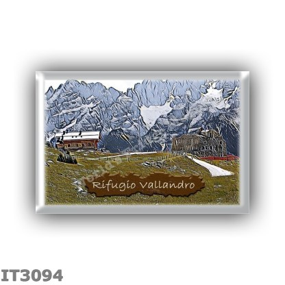 IT3094 Europe - Italy - Dolomites - Group Fanes-Braies - alpine hut Vallandro - locality Picco di Vallandro - seats 20 - altitud