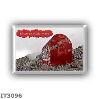 IT3096 Europe - Italy - Dolomites - Group Lagorai - alpine hut Bivacco Aldo Moro - locality Forcella di Bragarolo - seats 6 - al