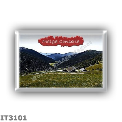 IT3101 Europe - Italy - Dolomites - Group Lagorai - alpine hut Malga Conseria - locality Testa di Val Campelle - seats 0 - altit