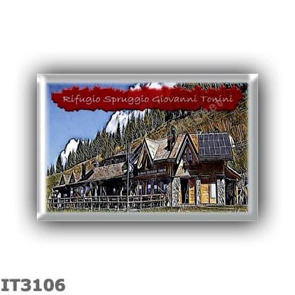 IT3106 Europe - Italy - Dolomites - Group Lagorai - alpine hut Spruggio - Tonini - locality Alpeggio Malga Spruggio Alta - seats