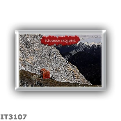 IT3107 Europe - Italy - Dolomites - Group Latemar - alpine hut Bivacco Rigatti - locality Forcella Grande del Latemar - seats 9