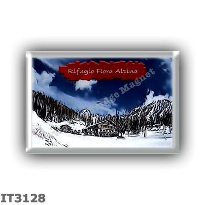 IT3128 Europe - Italy - Dolomites - Group Marmolada - alpine hut Flora Alpina - locality Conca di Valfredda - seats 40 - altitud