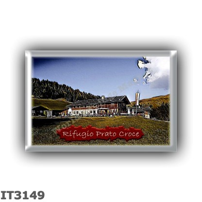 IT3149 Europe - Italy - Dolomites - Group Odle-Puez - alpine hut Prato Croce - locality Giogo d Asta - seats 0 - altitude meters