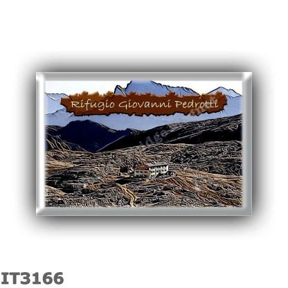 IT3166 Europe - Italy - Dolomites - Group Pale di San Martino - alpine hut Rosetta - Giovanni Pedrotti - locality Altopiano di R