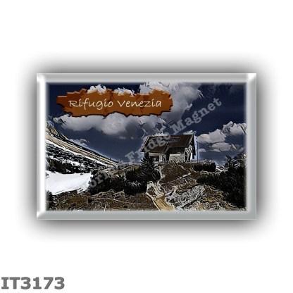 IT3173 Europe - Italy - Dolomites - Group Pelmo - alpine hut Venezia al Monte Pelmo - locality Passo di Rutorto - seats 55 - alt