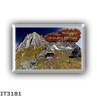 IT3181 Europe - Italy - Dolomites - Group Sassolungo - alpine hut Sandro Pertini - locality Pian dei Sassi - seats 12 - altitude