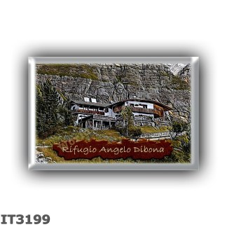 IT3199 Europe - Italy - Dolomites - Group Tofane - alpine hut Angelo Dibona - locality Alpe Miliera del Vallon di Tofana - seats
