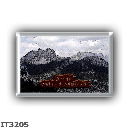 IT3205 Europe - Italy - Dolomites - Cadini di Misurina group from Sorapiss