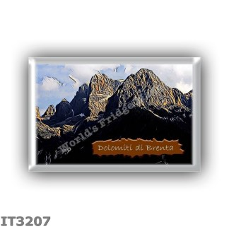 IT3207 Europe - Italy - Dolomites - Brenta group - Cima from Val Rendena