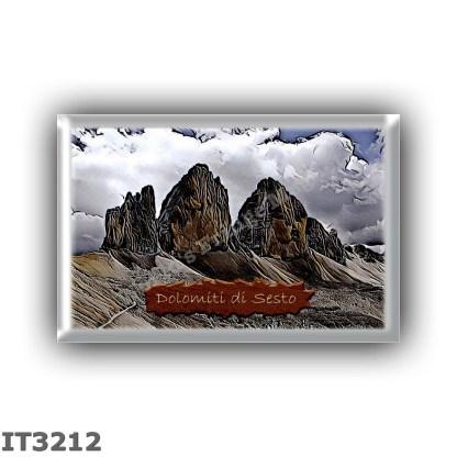 IT3212 Europe - Italy - Dolomites - Dolomiti di Sesto - Sexten Dolomites group