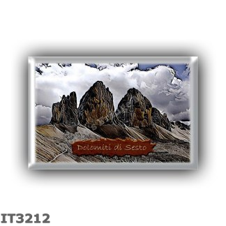 IT3212 Europe - Italy - Dolomites - Dolomiti di Sesto - Sexten Dolomites group