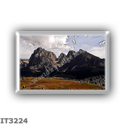 IT3224 Europe - Italy - Dolomites - Langkofel Group - Sassolungo