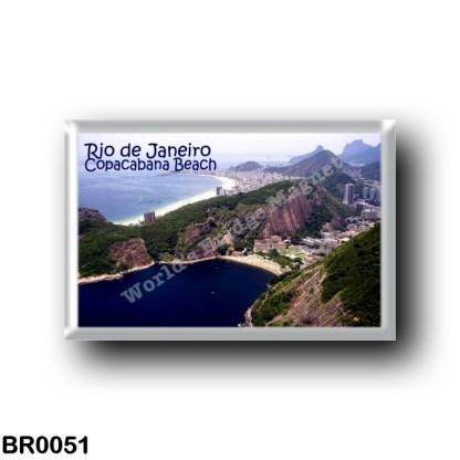 BR0051 America - Brazil - Rio de Janeiro - Copacabana beach