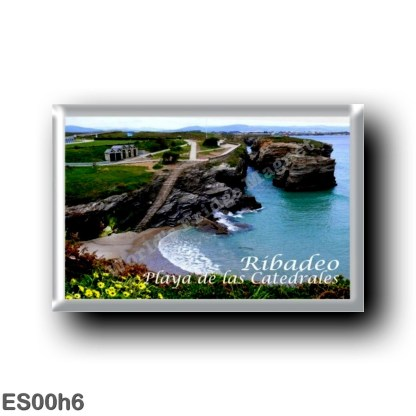 ES00h6 Europe - Spain - Spagna - Ribadeo - Playa de las Catedrales