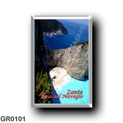GR0101 Europe - Greece - Zakynthos - Zante - Navagio Beach