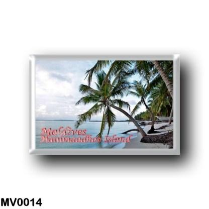 MV0014 Asia - Maldives - Hanimaadhoo Island, Haa Dhaalu Atoll
