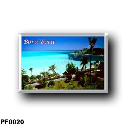PF0020 Oceania - French Polynesia - Bora Bora - Matira