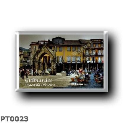 PT0023 Europe - Portugal - Guimaraes - Praça da Oliveira