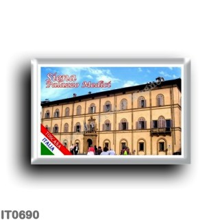 IT0690 Europe - Italy - Tuscany - Siena - Palazzo Medici (prefecture)
