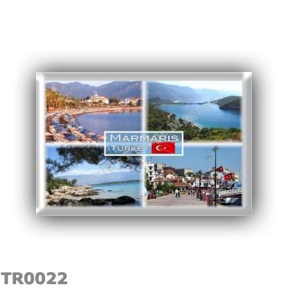 TR0022 Europe - Turkey - Marmaris - Icmeler beach - Oludeniz Blue Lagoon - Karaca - Marina