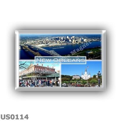 US0114 America - Usa - New Orleans - Central Business District - Cafè du Monde - French Quarter - Jackson Square
