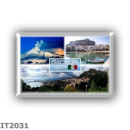 IT2031 Europe - Italia - Sicilia - Etna - Cefalu - Taormina