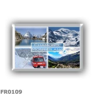 FR0109 Europe - France - Chamonix - Mont Blanc - Lac Blanc des Aiguilles Rouges