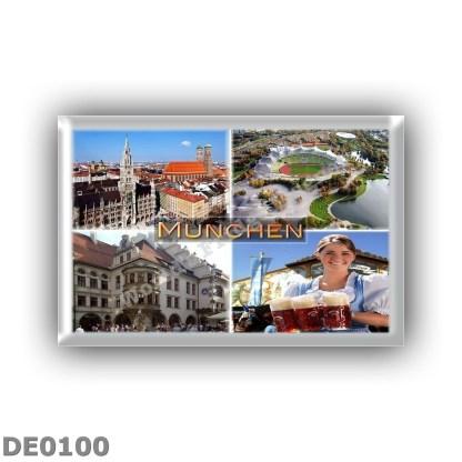 DE0100 Europe - Germany - Munchen - Altstadt - Olympiastadion Berlino - Hofbrauhaus - Octoberfest