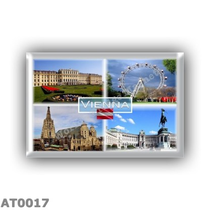 AT0017 Europe - Austria - Vienna - Schloss Schonbrunn - Prater Fnfair - Stephansdom - Hofburg Sissi