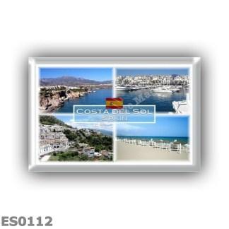 ES0112 - Europe - Spain - Costa del Sol - Nerja - Puerto Banus - Marbella - Mijas - Fuengirola beach